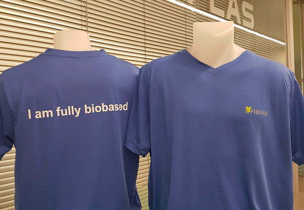 Bioplastics to produce fabrics with advanced properties