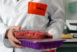 Active packaging for meat products