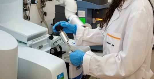 análisis de microplásticos