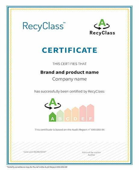 Recyclass certificado